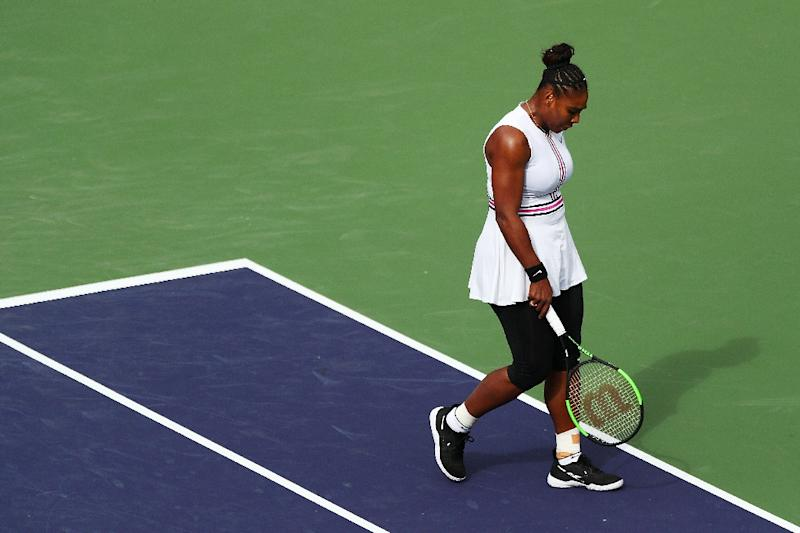 Viral illness forces Serena Williams to end Indian Wells match early