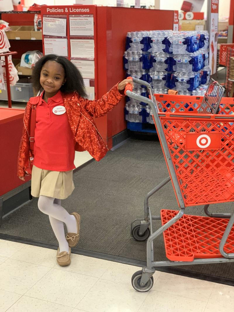 Brayden Lawrence of Georgia celebrated her 8th birthday at Target, her favorite store. (Photo: Courtesy of Rikki Jackson and Bailey Lawrence)