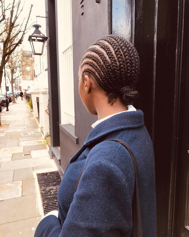 """<p>Timeless and sophisticated, there's just something about neat straight-back cornrows that never date.</p><p><a href=""""https://www.instagram.com/p/B-MVt5upLle/"""" rel=""""nofollow noopener"""" target=""""_blank"""" data-ylk=""""slk:See the original post on Instagram"""" class=""""link rapid-noclick-resp"""">See the original post on Instagram</a></p>"""