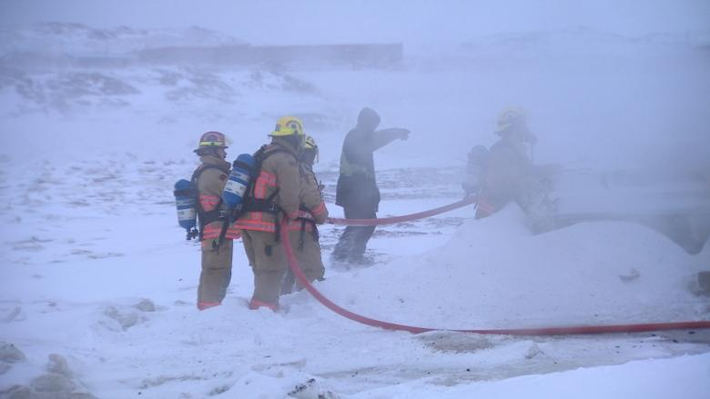 Puppy survives boat fire in Iqaluit that destroyed man's residence