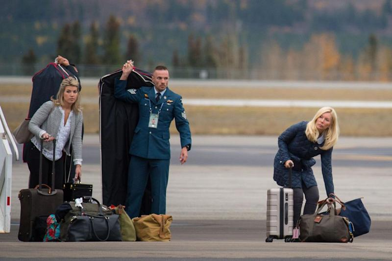 Amanda accompanied the royals on their 2016 tour of Canada. Photo: Getty