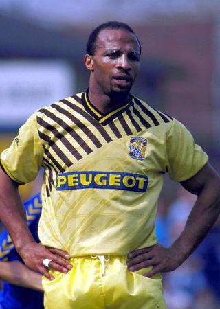FILE PHOTO: Football - Season 89/90 Coventry City's Cyrille Regis Action Images via Reuters/File Photo