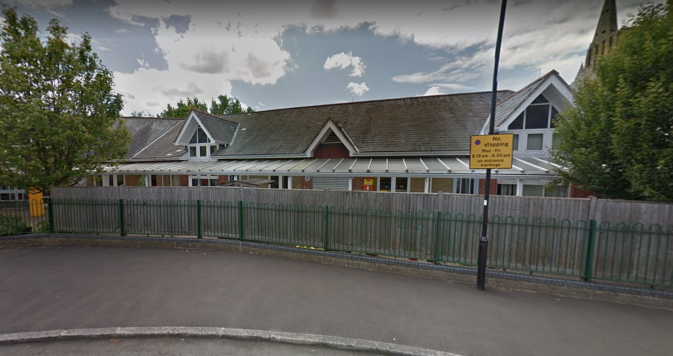 Cardinal Road School in Feltham is one of the schools to have been evacuated. (Google)