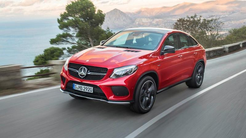 2016 Mercedes-Benz GLE Coupe: First Drive