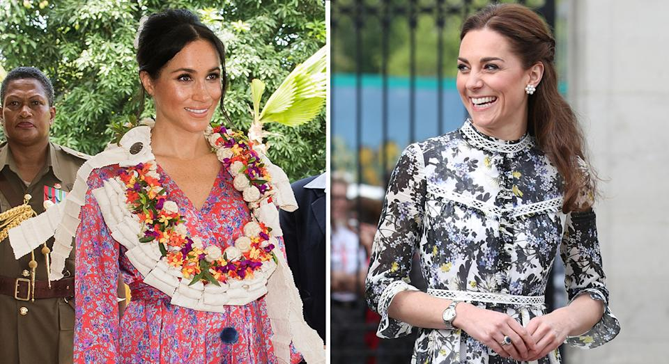 Meghan Markle and Kate Middleton are both fans of Castañer wedges