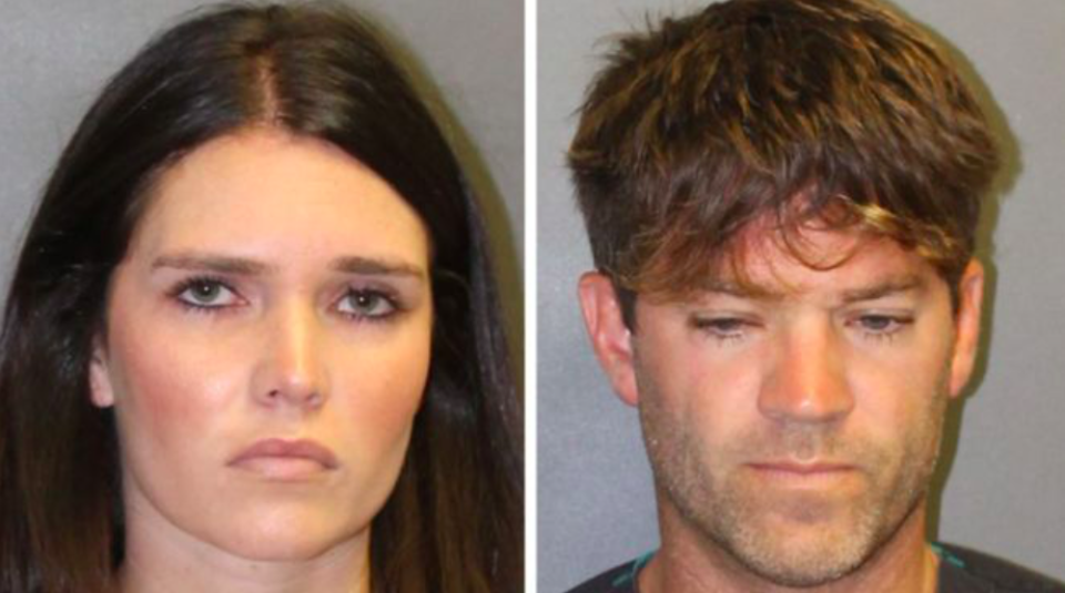 <em>Cerissa Riley and Grant Robicheaux have been charged with sexually assaulting two women (Police handout)</em>