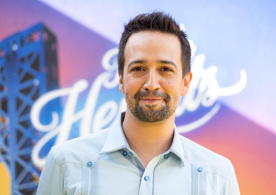 Lin-Manuel Miranda apologises after backlash over In the Heights (Getty Images)
