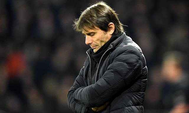 Chelsea's normally excitable manager Antonio Conte was subdued during the 4-1 defeat to Watford in early February, leading his father to intervene with a phone call.