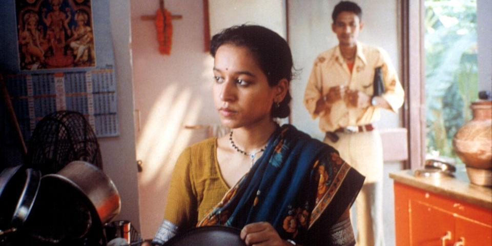 "<p>This vibrant New Dehli affair from Mira Nair challenges the stereotype of a loveless arranged marriage, following the festivities as dozens of wedding guests fly in (emotional baggage and all) to witness the marital union of a groom and his handpicked bride. <a class=""link rapid-noclick-resp"" href=""https://www.amazon.com/dp/B002YH09GC?tag=syn-yahoo-20&ascsubtag=%5Bartid%7C10056.g.6498%5Bsrc%7Cyahoo-us"" rel=""nofollow noopener"" target=""_blank"" data-ylk=""slk:Watch Now"">Watch Now</a><br></p>"