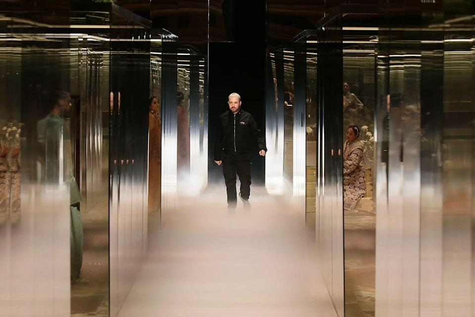 "<p>It was Kim Jones' debut couture collection for Fendi, and fans were not left disappointed, with iconic faces such as Demi Moore, Kate Moss, Naomi Campbell and Bella Hadid storming the catwalk. </p><p>Drawing inspiration from Virginia Woolf and Vita Sackville-West, Jones' metallic and blue gowns were a perfect blend of modernity and timeless Italian design.</p><p>Fendi is always praised for the casting at its shows, and S/S 21 couture was no exception; as Jones said: ""The importance of family – both real and chosen – is celebrated through the cast who model the collection."" </p><p>See the full collection <a href=""https://www.fendi.com/gb/woman/highlights/fendi-haute-couture"" rel=""nofollow noopener"" target=""_blank"" data-ylk=""slk:here"" class=""link rapid-noclick-resp"">here</a>.</p>"