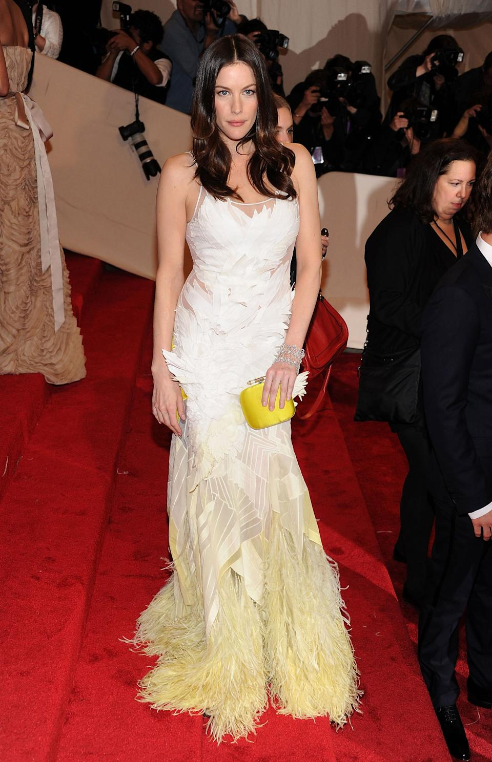 """<h1 class=""""title"""">Liv Tyler in Givenchy, 2011</h1><cite class=""""credit"""">Photo: Getty Images</cite>"""