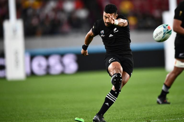 New Zealand flyhalf Richie Mo'unga retains the role he played in the 2019 Rugby World Cup