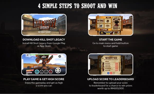 4 Simple Steps to Play Kill Shot Legacy and Win Prizes