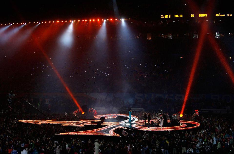 <p>Honestly, though, no one can beat Prince's stage, given that it was shaped like his famous love symbol.</p>