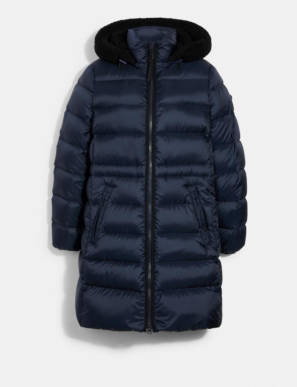 The Long Line Puffer by Coach.