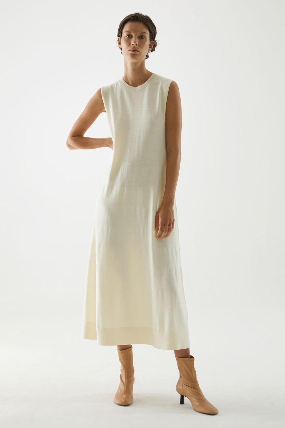 <p>If lockdown has ignited your love for easy knit dresses, this <span>COS Knitted Wool Dress</span> ($125) should be next on your shopping list.</p>
