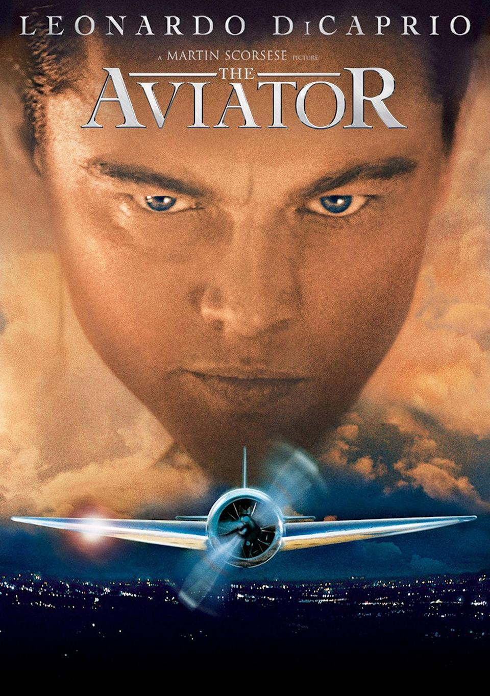"""<p><a class=""""link rapid-noclick-resp"""" href=""""https://www.amazon.com/Aviator-Leonardo-DiCaprio/dp/B001N09BDS?tag=syn-yahoo-20&ascsubtag=%5Bartid%7C10063.g.35716832%5Bsrc%7Cyahoo-us"""" rel=""""nofollow noopener"""" target=""""_blank"""" data-ylk=""""slk:Watch Now"""">Watch Now </a></p><p>Leonardo DiCaprio stars in this Academy Award-winning biopic of the enigmatically brilliant billionaire Howard Hughes, from his early years as a film director and aviation enthusiast to his downward spiral into the mental illness and phobia that would define the tycoon's later years. </p>"""