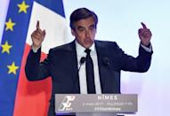 French police raid Fillon's home as he is warned of political 'abyss'