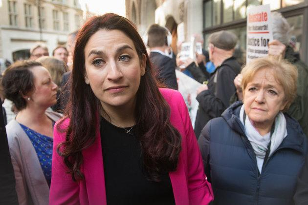 Jewish Labour MP Luciana Berger, who criticised the new plans at the Parliamentary Labour Paryt, and Margaret Hodge