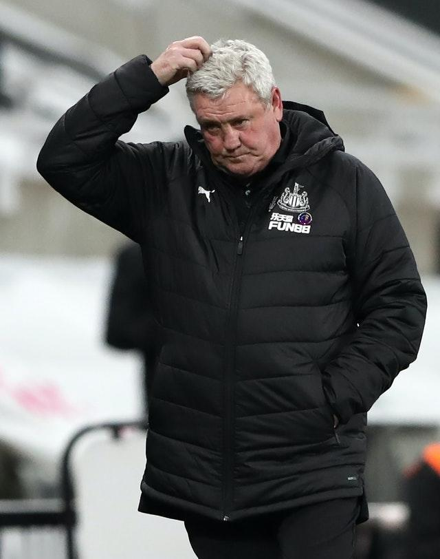 Steve Bruce has been under fire from Newcastle supporters
