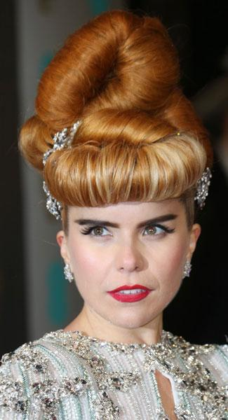 Top 10 Beauty Trends At Last Night's EE BAFTA 2013 Awards From Hot Red Lips To Rogue Hair Looks