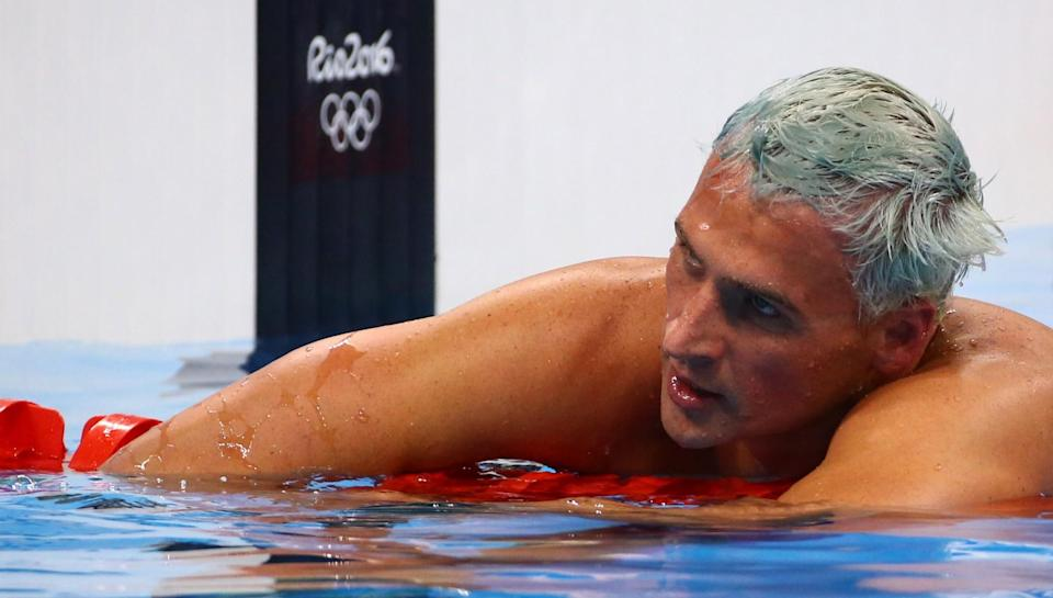 Ryan Lochte had said he was robbed at gunpoint by people impersonating police officers. (Reuters)