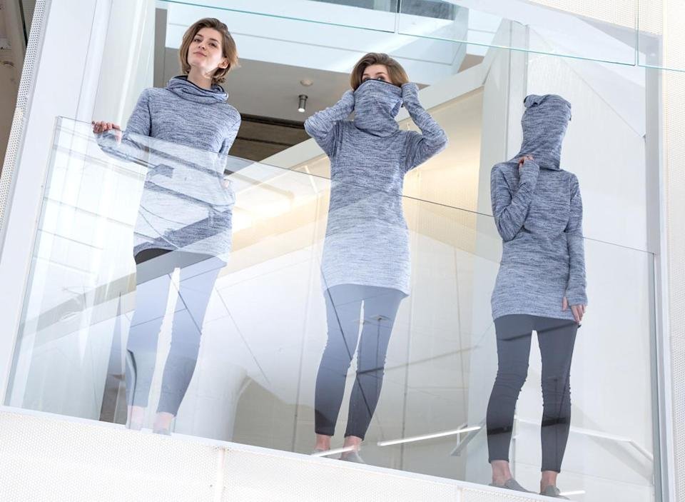 """You can finally buy your very own """"leave me alone"""" sweater, so goodbye world"""