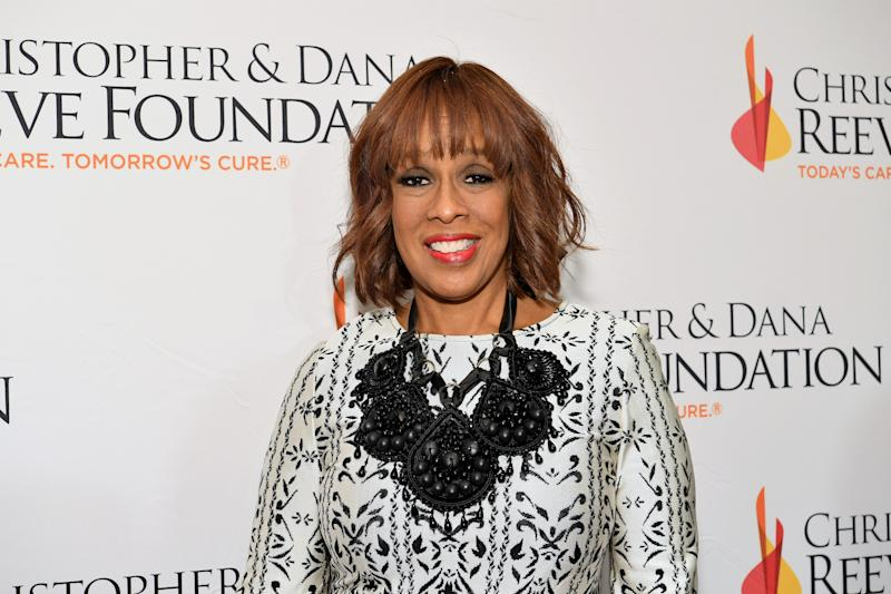 A heated Gayle King defends 'Baby, It's Cold Outside'