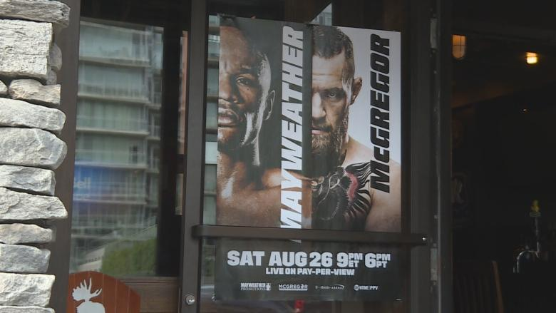 Ottawa bars hope to cash in on Mayweather vs. McGregor fight