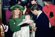 """<p>The Duke and Duchess of York welcome <a href=""""https://www.townandcountrymag.com/the-scene/weddings/news/a7979/karlie-kloss-princess-beatrice/"""" rel=""""nofollow noopener"""" target=""""_blank"""" data-ylk=""""slk:Princess Beatrice"""" class=""""link rapid-noclick-resp"""">Princess Beatrice</a> on August 8.</p>"""