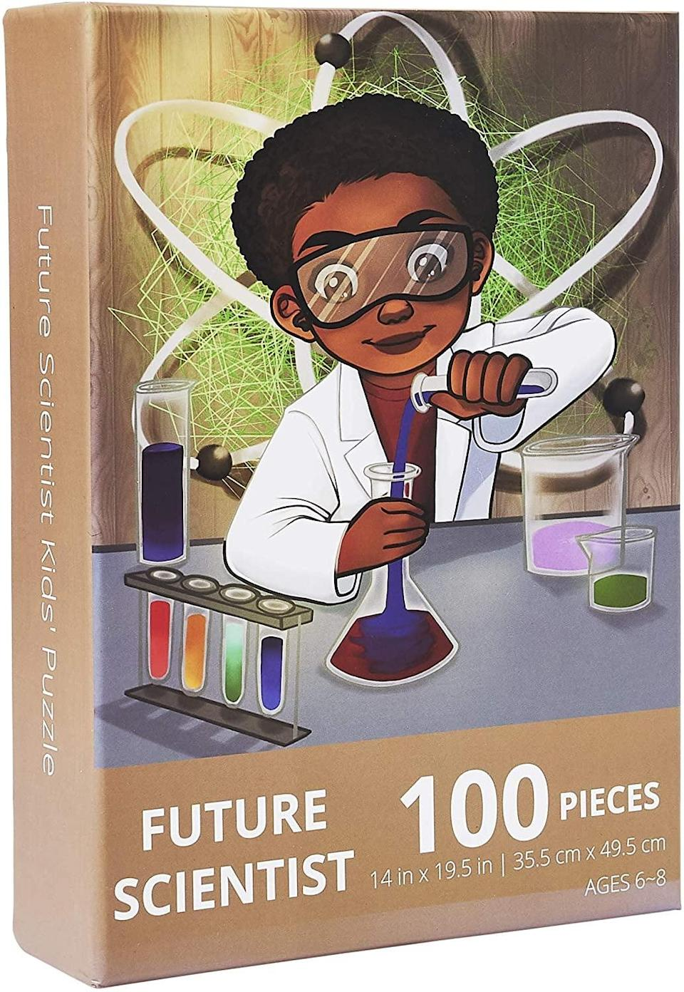 <p><span>Future Scientist Kids' Jigsaw Puzzle by Puzzle Huddle</span> ($16)</p>