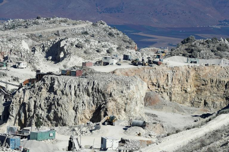 A boom in quarrying started with the long reconstruction that followed Lebanon's 1975-1990 civil war, becoming a top post-conflict industry (AFP Photo/JOSEPH EID)