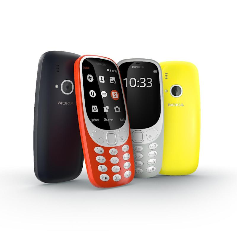 The new Nokia 3310More