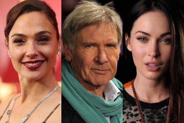 Gal Gadot, Harrison Ford and Megan Fox must have made a living in a more