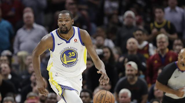 Despite being crowned MVP of the NBA Finals, Kevin Durant didn't bring his all to Game 1. In a Lee Jenkins profile for Sports Illustrated, Durant revealed that he wasn't prepared for the series opener.