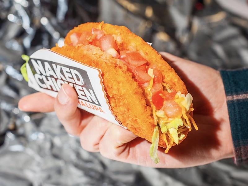 Taco Bell Naked Chicken Chalupa 8