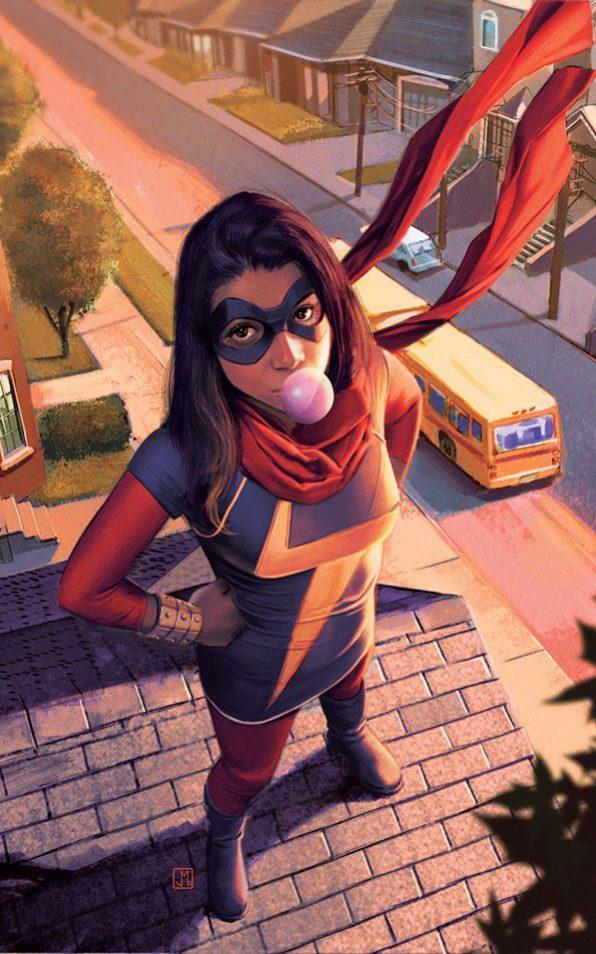 Kamala Khan, Marvel's first Muslim superhero to headline her own title