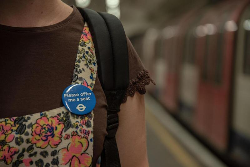 The academic has worn a blue badge since November 2016, when she was invited to take part in an initial 20-day trial by TfL