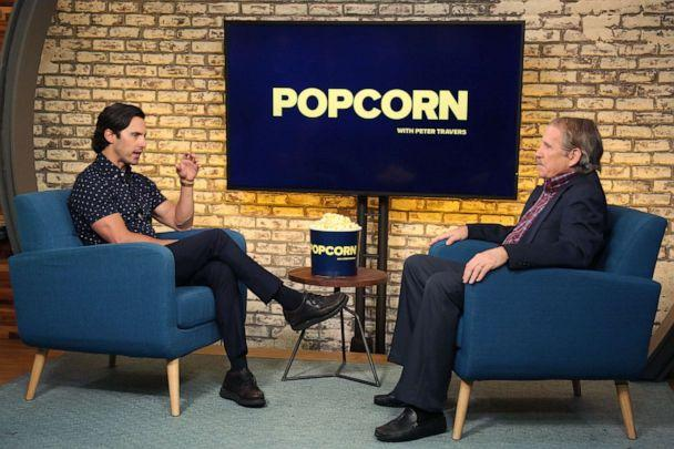 PHOTO: Milo Ventimiglia appears on 'Popcorn with Peter Travers' at ABC News studios, August 6, 2019, in New York. (Emilie Richardson)