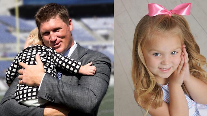 Todd Heap and his daughter, Holly. (Heap family website)