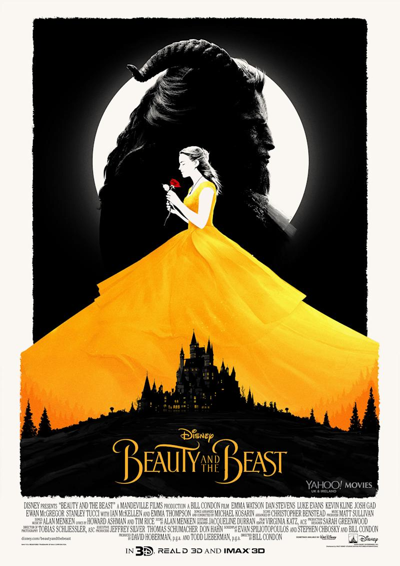 Matt Ferguson's 'Beauty and the Beast' poster (Disney/IMAX)