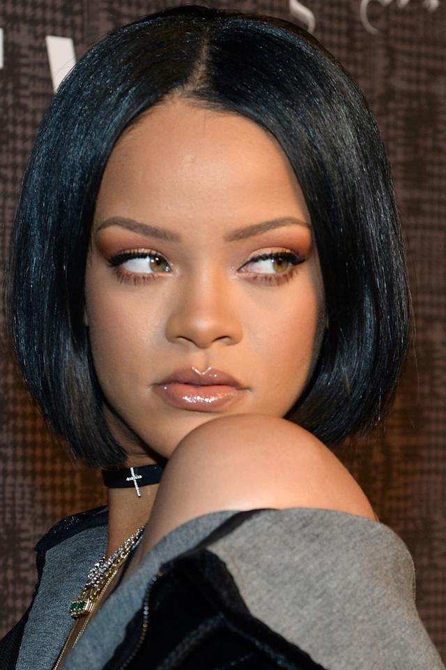 <p>Rolled ends are the hair equivalent of slip dresses and chokers: overtly sexy in a throwback kind of way.<span> Rihanna wore all three at once earlier this year to really drive home the point.</span></p>