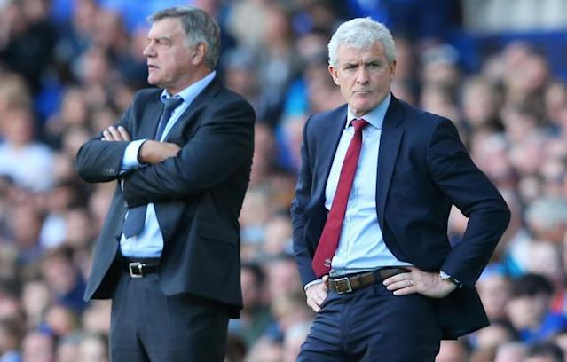 Mark Hughes hits out at referee Jon Moss for costing Southampton two valuable points against Everton