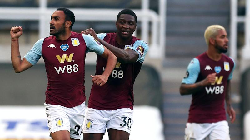 Ahmed Elmohamady denies Newcastle to boost Aston Villa survival bid
