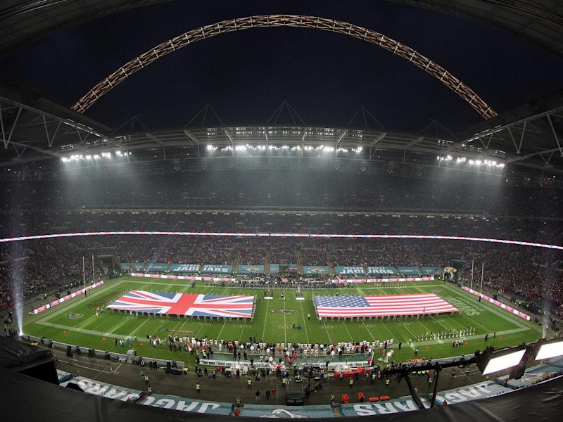 The NFL's International Series has held games at Wembley since its introduction in 2007 (Getty)