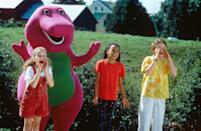 "<p><strong>Peacock's Description:</strong> ""The big, purple dinosaur and his young friends take part in an exciting search for an egg that fell from the sky.""</p> <p><a href=""https://www.peacocktv.com/watch/asset/movies/kids/barneys-great-adventure/f2fd5fa3-5d6b-38eb-a24a-2525d6858bb0?coppa=true"" class=""link rapid-noclick-resp"" rel=""nofollow noopener"" target=""_blank"" data-ylk=""slk:Watch Barney's Great Adventure on Peacock now!"">Watch <strong>Barney's Great Adventure</strong> on Peacock now!</a></p> <h2>Other Family Movies For Kids on Peacock</h2> <ul> <li><a href=""https://www.peacocktv.com/watch/asset/movies/kids/an-american-girl-grace-stirs-up-success/4319a1a5-957a-328f-9093-e4d20318b5a8?coppa=true"" class=""link rapid-noclick-resp"" rel=""nofollow noopener"" target=""_blank"" data-ylk=""slk:An American Girl: Grace Stirs Up Success""><strong>An American Girl: Grace Stirs Up Success</strong></a> </li> <li><a href=""https://www.peacocktv.com/watch/asset/movies/kids/an-american-girl-lea-to-the-rescue/06c59ebe-6697-3bf8-bbcd-c0c3c89db709?coppa=true"" class=""link rapid-noclick-resp"" rel=""nofollow noopener"" target=""_blank"" data-ylk=""slk:An American Girl: Lea to the Rescue""><strong>An American Girl: Lea to the Rescue</strong></a> </li> <li><a href=""https://www.peacocktv.com/watch/asset/movies/kids/americano/cfca157e-9431-3337-aa95-b833e79a9bb5?coppa=true"" class=""link rapid-noclick-resp"" rel=""nofollow noopener"" target=""_blank"" data-ylk=""slk:Americano""><strong>Americano</strong></a> </li> <li><a href=""https://www.peacocktv.com/watch/asset/movies/kids/barbie-in-a-mermaid-tale-2/1f15b9d5-9d08-36f3-9a50-48912a4a31e0"" class=""link rapid-noclick-resp"" rel=""nofollow noopener"" target=""_blank"" data-ylk=""slk:Barbie in a Mermaid Tale 2""><strong>Barbie in a Mermaid Tale 2</strong></a> </li> <li><a href=""https://www.peacocktv.com/watch/asset/movies/kids/barbie-in-the-pink-shoes/ea149052-0b47-3ffe-a2bc-2e130459cbb2?coppa=true"" class=""link rapid-noclick-resp"" rel=""nofollow noopener"" target=""_blank"" data-ylk=""slk:Barbie in the Pink Shoes""><strong>Barbie in the Pink Shoes</strong></a> </li> <li><a href=""https://www.peacocktv.com/watch/asset/movies/kids/hammys-boomerang-adventure/0a7fd090-2f5b-3ee3-bd22-add9e8940139?coppa=true"" class=""link rapid-noclick-resp"" rel=""nofollow noopener"" target=""_blank"" data-ylk=""slk:Hammy's Boomerang Adventure""><strong>Hammy's Boomerang Adventure</strong></a> </li> <li><a href=""https://www.peacocktv.com/watch/asset/movies/kids/the-land-before-time-xiv-journey-of-the-brave/4a7ad3fc-aff3-3811-a479-f1c0fa3c6e98?coppa=true"" class=""link rapid-noclick-resp"" rel=""nofollow noopener"" target=""_blank"" data-ylk=""slk:The Land Before Time XIV: Journey of the Brave""><strong>The Land Before Time XIV: Journey of the Brave</strong></a> </li> <li><a href=""https://www.peacocktv.com/watch/asset/movies/kids/lego-the-adventures-of-clutch-powers/1177efea-b963-33ac-8d56-4311f6f8c01c?coppa=true"" class=""link rapid-noclick-resp"" rel=""nofollow noopener"" target=""_blank"" data-ylk=""slk:LEGO: The Adventures of Clutch Powers""><strong>LEGO: The Adventures of Clutch Powers</strong></a></li> </ul>"