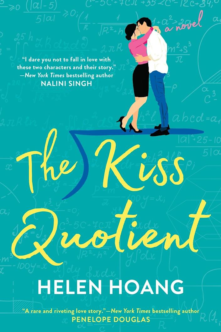 <p><span><strong>The Kiss Quotient</strong> by Helen Hoang</span> ($12) follows Stella Lane, a mathematician with Asperger's who's on a mission to learn everything she can about dating and intimacy, and Michael Phan, the escort she hires to teach her.</p> <p>I think this was the first book I ever read featuring a lead with a Vietnamese background, which I really loved as a Vietnamese-American myself. Michael's family on his mom's side is Vietnamese, and I loved the use of Vietnamese dishes and familial titles throughout the story. It's a fast and steamy read!</p>