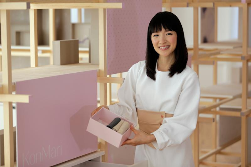 Marie Kondo's first book in the U.S.,&nbsp;<i>The Life-Changing Magic of Tidying Up</i>, made The New York Times best seller list. (Photo: ASSOCIATED PRESS)