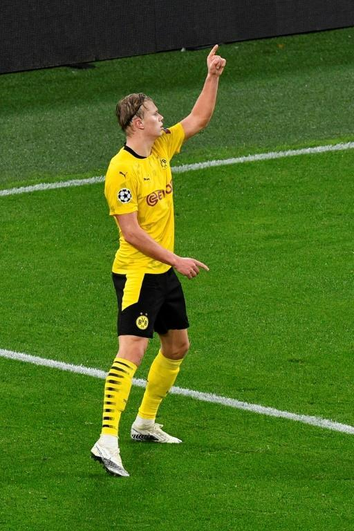 Erling Braut Haaland's late goal sealed a 2-0 win for Borussia Dortmund over Zenit