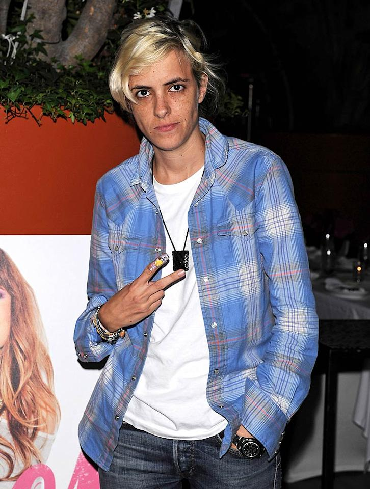 "August 7: DJ (and Lindsay Lohan's ex) Samantha Ronson turns 34. Jean Baptiste Lacroix//<a href=""http://www.wireimage.com"" target=""new"">WireImage.com</a> - July 27, 2011"